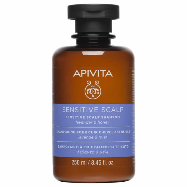 Apivita Sensitive Scalp Shampoo With Lavender & Honey 250ml