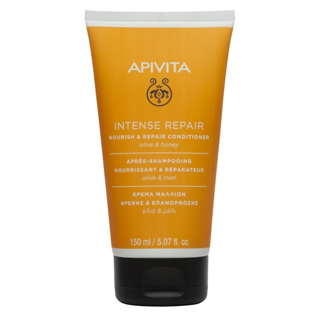 Apivita Nourish & Repair Conditioner For Dry & Damaged Hair With Olive & Honey 150ml