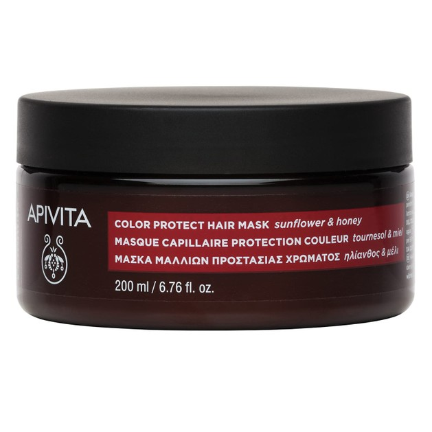 Apivita Color Protect Hair Mask With Sunflower & Honey 200ml