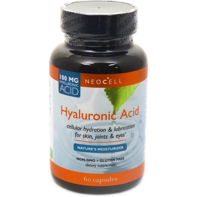 Neocell Hyaluronic Acid 100mg 60Caps