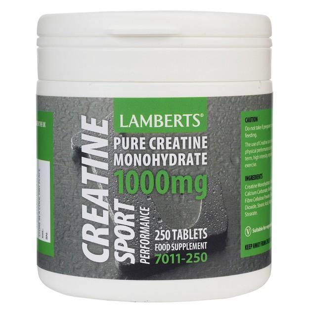 Lamberts Creatine 1000mg 250 tabs