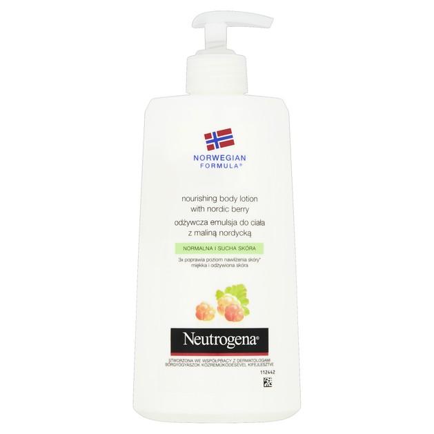 Neutrogena Nourishing Body Lotion Θρεπτικό Γάλακτωμα Σώματος με Nordic Berry για Κανονική - Ξηρή Επιδερμίδα 400ml Promo -30%