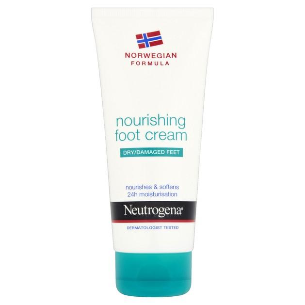 Neutrogena Nourishing Foot Cream Θρεπτική Κρέμα Ποδιών για Ξηρό - Ταλαιπωρημένο Δέρμα 100ml