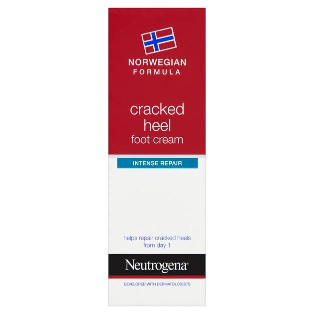 Neutrogena Craked Heel Foot Cream Κρέμα Ποδιών Εντατικής Ενυδάτωσης για Σκασμένες Φτέρνες 50ml