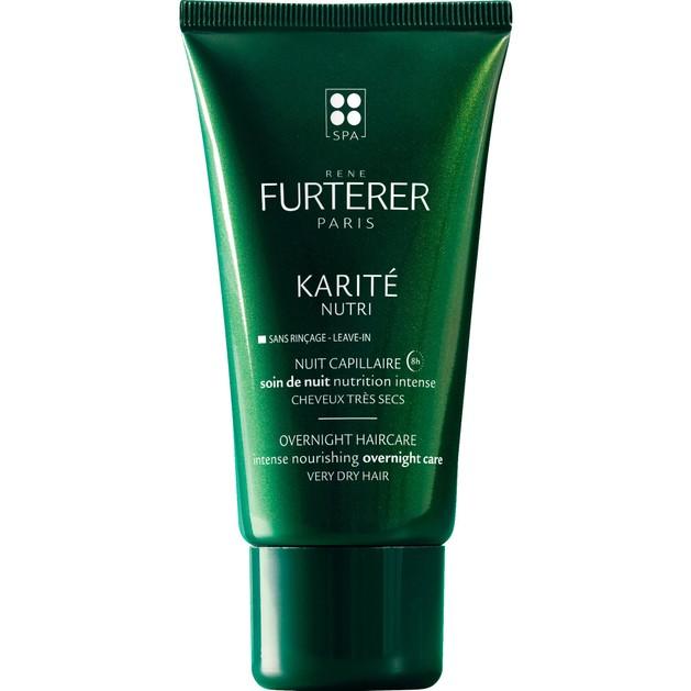 Rene Furterer Karite Nutri Overnight Haircare Κρέμα Νυκτός Εντατικής Θρέψης για Πολύ Ξηρά Μαλλιά Χωρίς Ξέπλυμα 75ml