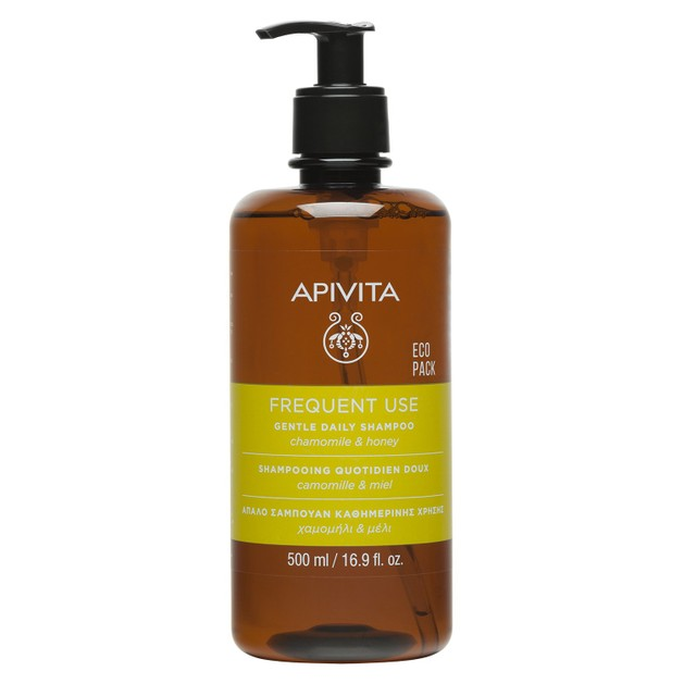 Apivita Frequent Use Gentle Daily Shampoo With Chamomile & Honey 500ml