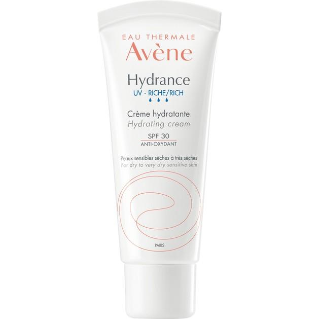 Avene Hydrance UV Riche Cream Spf30 Ενυδατική Κρέμα Πλούσιας Υφής για Ξηρές & Πολύ Ξηρές Επιδερμίδες 40ml