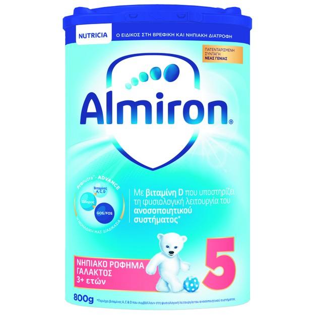 Nutricia Almiron 5 Νηπιακό Ρόφημα Γάλακτος από 3 Ετών 800gr