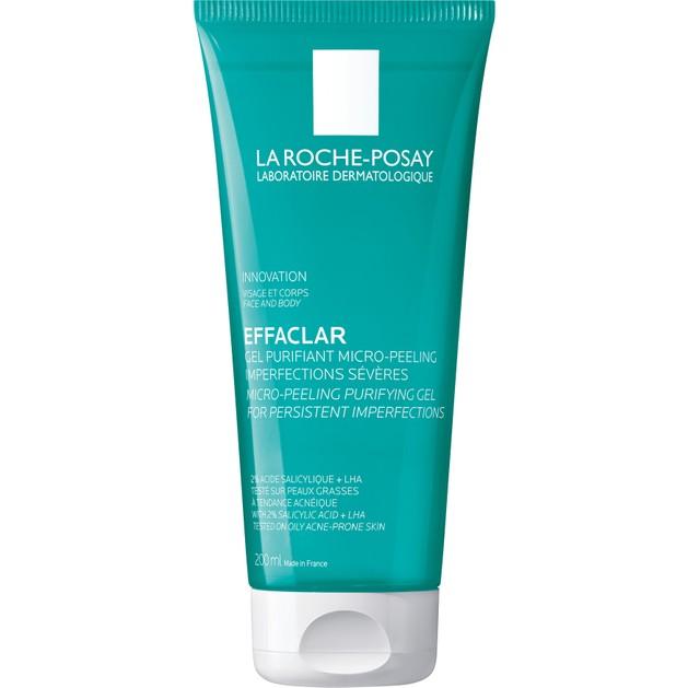 La Roche-Posay Effaclar Gel Purifiant Micro Peeling Gel για Επίμονες Ατέλειες & Δέρμα με Τάση Ακμής 200ml