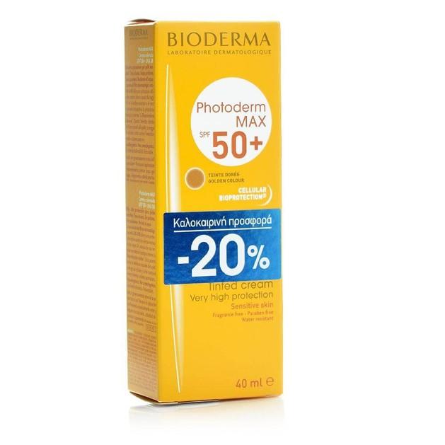 Bioderma Photoderm Max Creme Teinte Doree Spf50+, 40ml