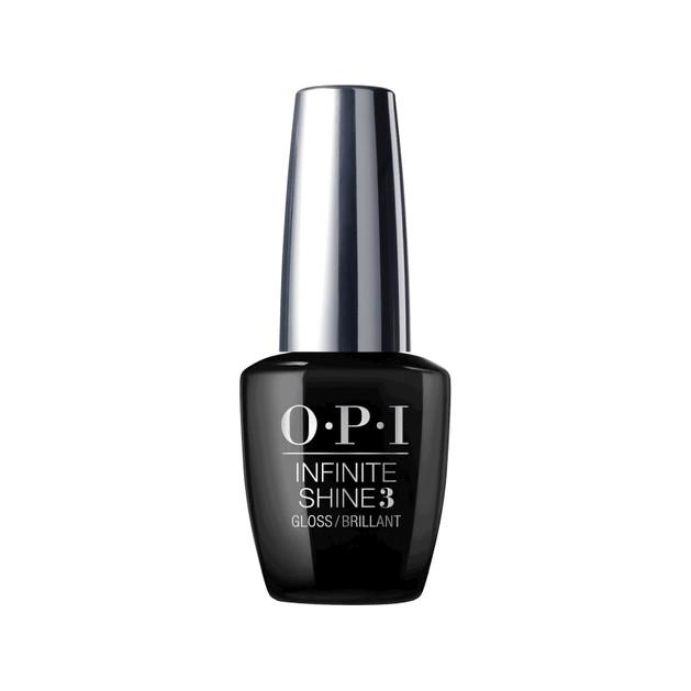 OPI Infinite Shine 3 Gloss Top Coat Γυαλιστικό που Επιταχύνει τη Διαδικασία Στεγνώματος Βήμα 3ο, 15ml