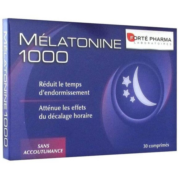 Melatonine 1000, 30Tabs - FORTE PHARMA