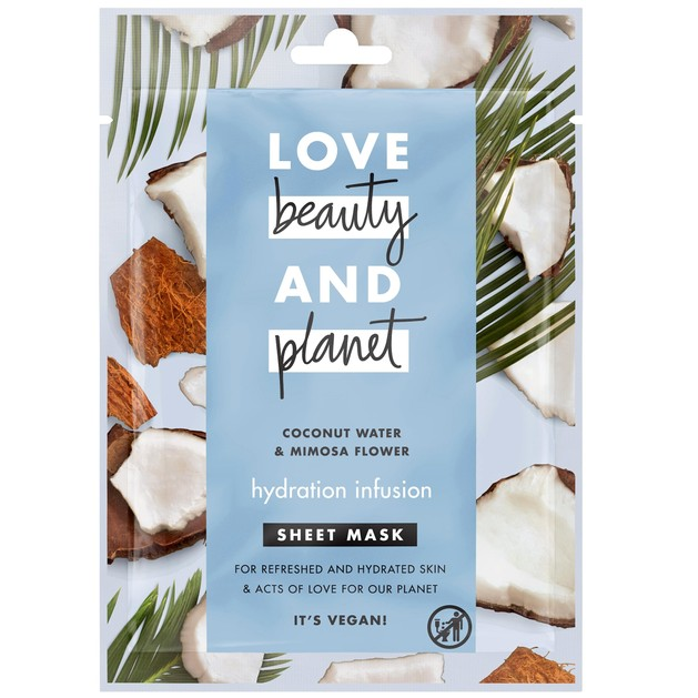 Love Beauty & Planet Face Sheet Mask Coconut 21ml