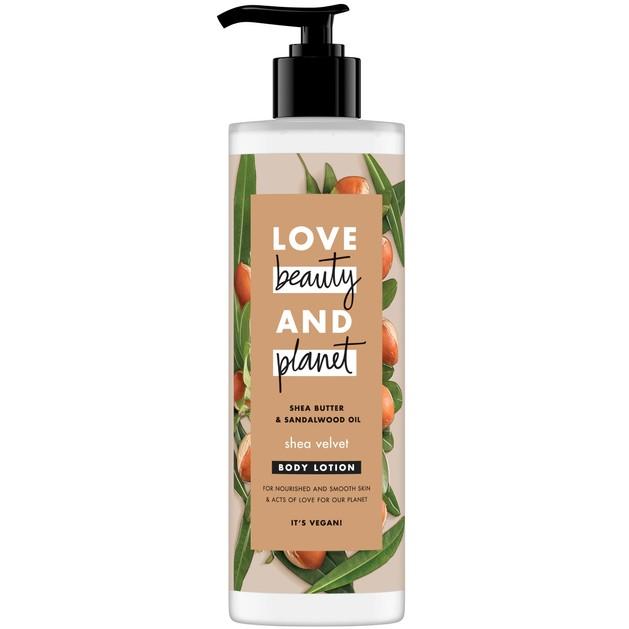 Love Beauty & Planet Shea Butter & Sandalwood Oil Body Lotion 400ml