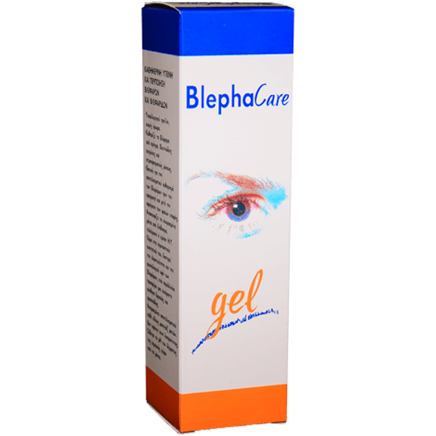 BlephaCare Gel Οφθαλμικό Τζελ για την Καθημερινή Περιποίηση & Υγιεινή των Βλεφάρων 60 gr