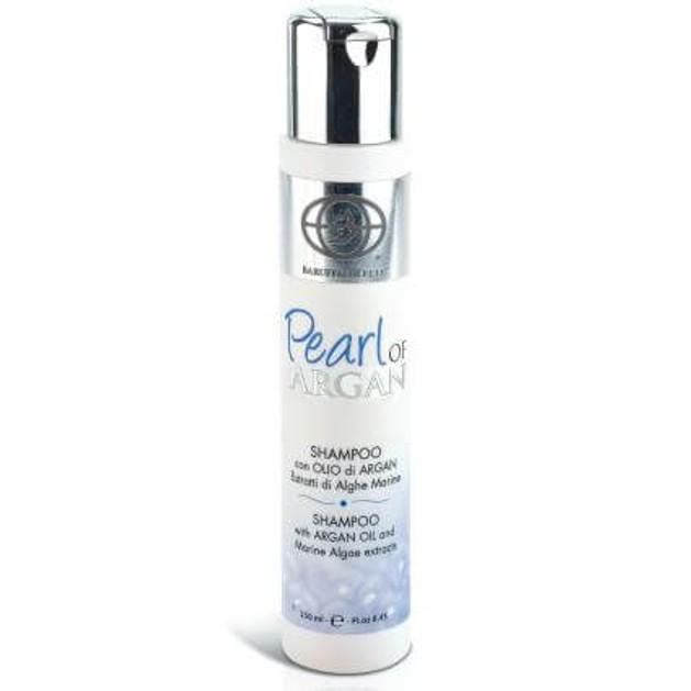 Pearl of Argan Shampoo With Argan Oil & Marine Algae Extracts Σαμπουάν με Έλαιο Argan & Εκχύλισμα απο Θαλλάσια Άλγη 250ml