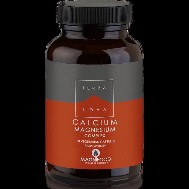 Terranova Calcium Magnesium Complex Ιδανική Σύνθεση που Μεγιστοποιεί την Απορρόφηση του Ασβεστίου 50caps
