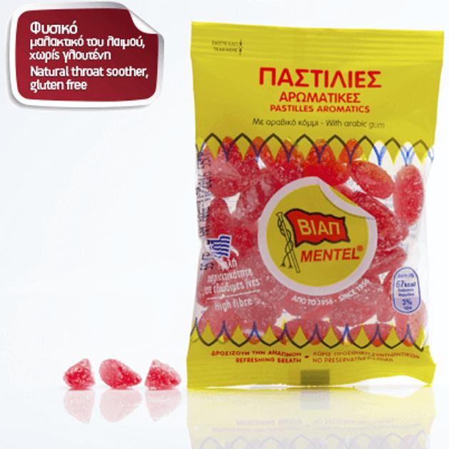 Βιαπ Mentel Παστίλιες Αρωματικές με Βιταμίνη C