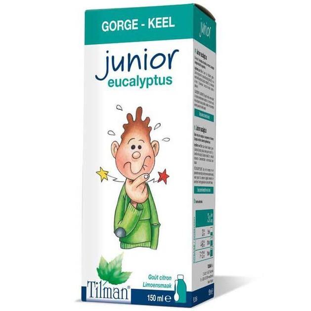 Tilman Junior Throat & Breath Eukalyptus Παιδικό  Σιρόπι Ευκαλύπτου για το Λαιμό 150ml