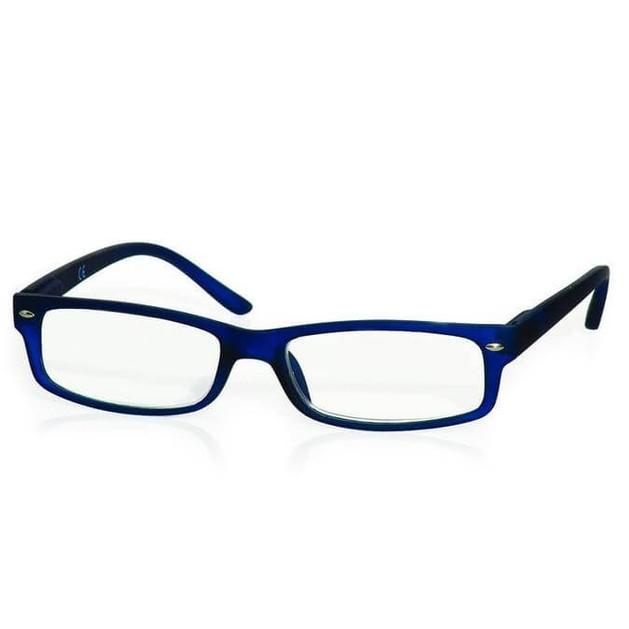 Γυαλιά Διαβάσματος Κοκκάλινα σε Μπλέ Χρώμα με Ειδική Θήκη Φύλαξης