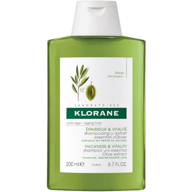 Klorane Shampooing a la Extrait Essentiel d\'Olivier 200ml Promo -25%