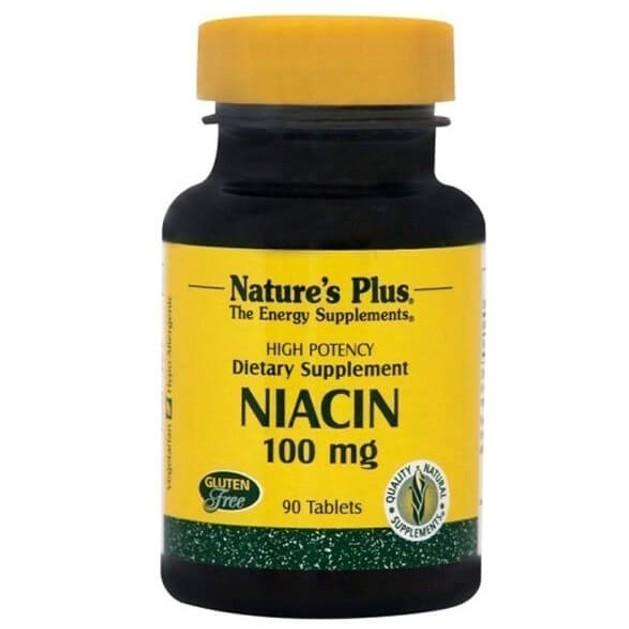 Nature\'s Plus Niacin Νιασίνη 100mg 90tabs