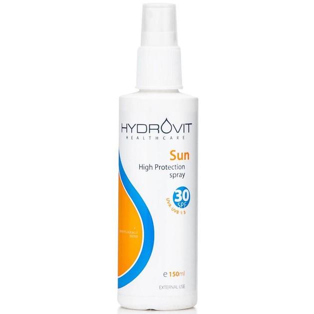 Hydrovit Sun Spray Spf30 Αντηλιακό Spray Υψηλής Προστασίας 150ml