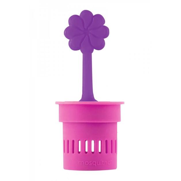 MosquitNo Trendy Citronella Flower Pot Διακοσμητικό Γλαστράκι με Άρωμα Σιτρονέλλας 1 Τεμάχιο