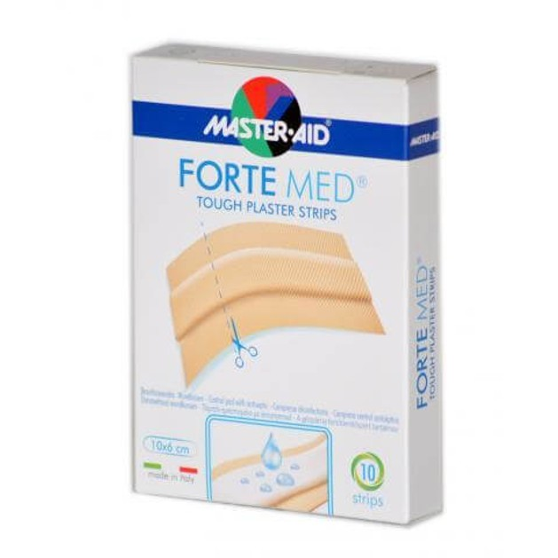 Master Aid Forte Med 10 Strips