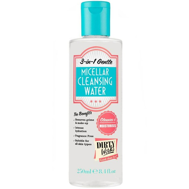 Dirty Works Micellar Cleansing Water 3-in-1 250ml