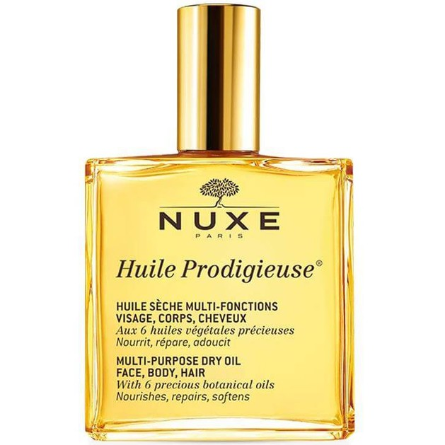 Nuxe Huile Prodigieux Ξηρό Λάδι για Πρόσωπο-Σώμα-Μαλλιά  100ml Promo -25%