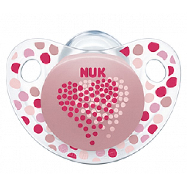 Nuk Trendline Adore Πιπίλα Σιλικόνης Χωρίς BPA