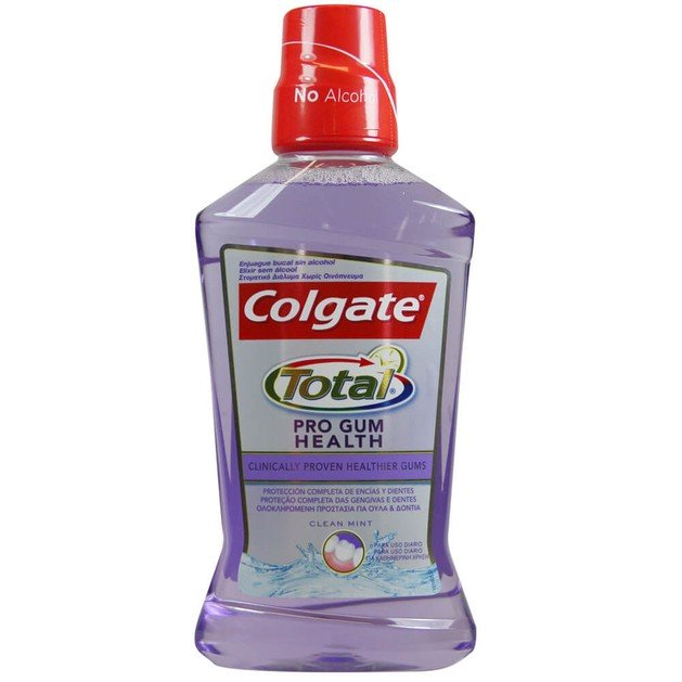 Colgate Total Pro Gum Health Στοματικό Διάλυμα για την Καταπολέμηση των Βακτηρίων 500ml