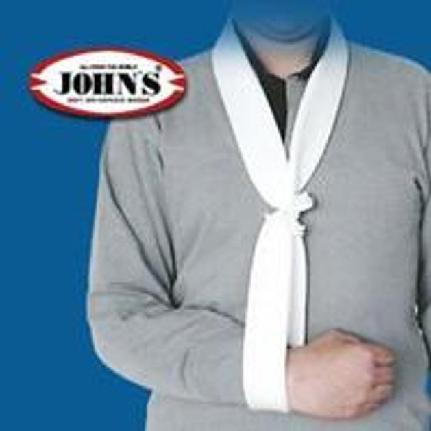 John\'s Ιμάντας Ανάρτησης Τύπου Collar & Cuff One Size 2τμχ  15080