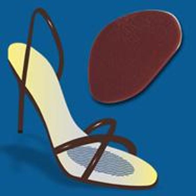 John\'s Happy Feet Αυτοκόλλητο Στήριγμα Μεταταρσίου Σιλικόνη One Size 17246