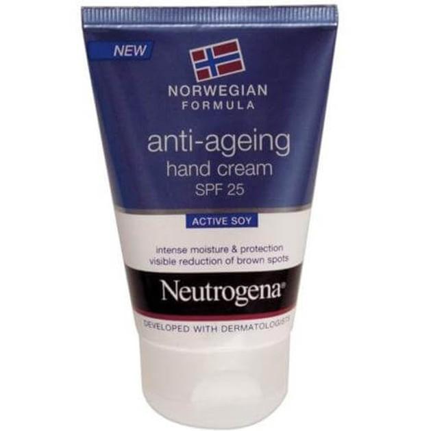 Neutrogena Hand Cream Anti-Ageing Spf25 Ενυδατική Κρέμα Χεριών Κατά των Σκούρων Κηλίδων για την Ξηρή & Σκασμένη Επιδερμίδα 50ml