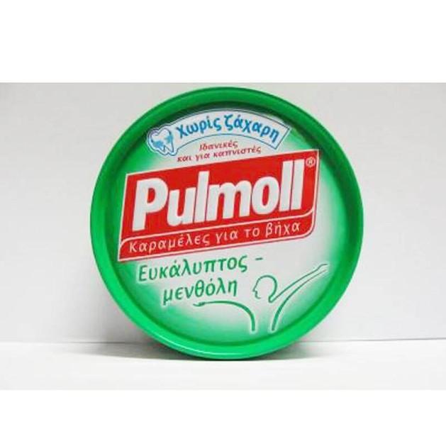 Pulmoll Καραμέλες με Ευκάλυπτος- Μενθόλη