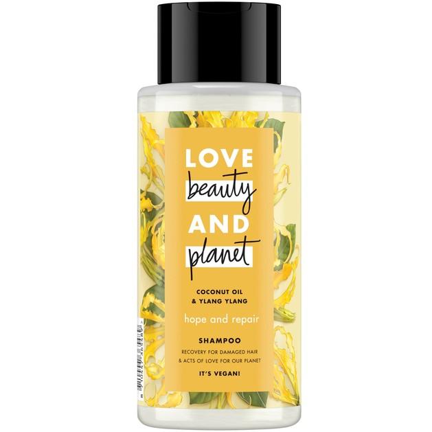 Love Beauty and Planet Σαμπουάν Ylang Ylang & Coconut Oil για Ταλαιπωρημένα Μαλλιά 400ml