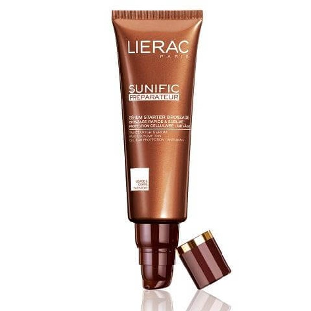 Lierac Sunific Serum Preparateur Bronzage, Ορός Starter Μαυρίσματος, Πρόσωπο & Σώμα 125ml