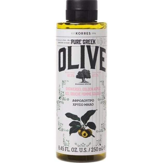 Korres Pure Greek Olive Shower Gel Golden Apple 250ml
