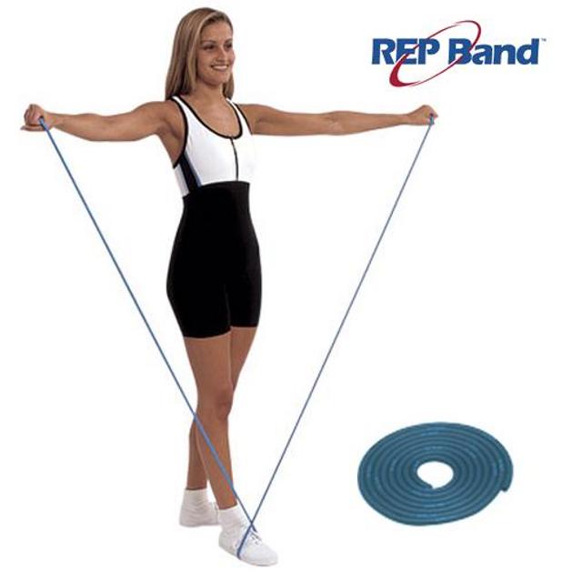 John\'s Rep Tubing Level 4 Blue Λάστιχο Γυμναστικής (7,5m) 233103