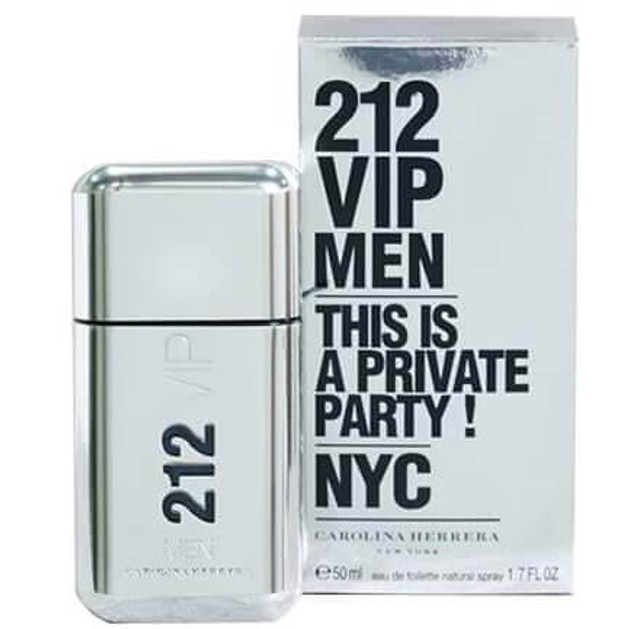 Carolina Herrera 212 VIP Men This is a Private Party! NYC Eau de Toilette 50ml