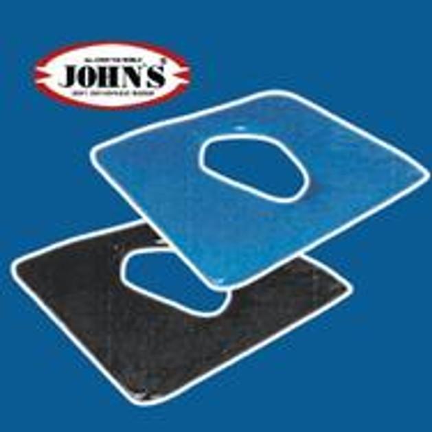 John\'s Μαξιλάρι Σιλικόνης Με Τρύπα 40χ40 216402