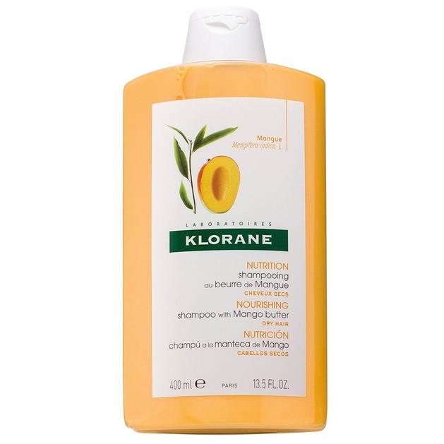 Klorane Mango Βutter Nourishing Treatment Shampoo Σαμπουάν με Βούτυρο Μάνγκο για Ξηρά Μαλλιά, 400ml Promo -25%
