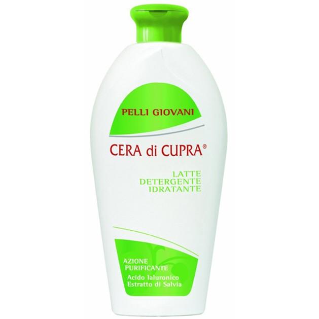 Cera di Cupra Pelli Giovani Ενυδατικό Καθαριστικό Γαλάκτωμα με Υαλουρονικό Οξύ, Εκχύλισμα Sage & NMF 200ml