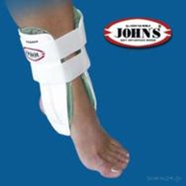 John\'s Gel Ankle Brace Αυτοκόλλητος Κηδεμόνας Με Δύο Κυψέλες Gel Για Αστράγαλο 23202
