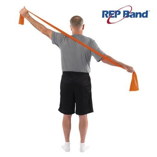 John\'s Rep Band Level 2 Orange Λάστιχο Γυμναστικής (5,5m) 233001