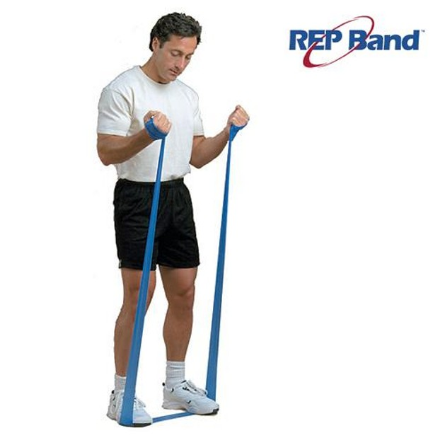 John\'s Rep Band Level 4 Blue Λάστιχο Γυμναστικής (5,5m) 233003