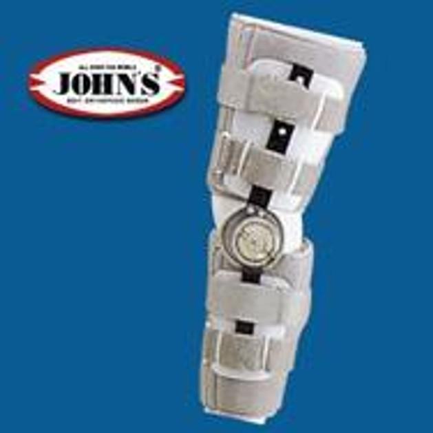 John\'s Κηδεμόνας Μηροκνημικός Με Πολυκεντρική Ρύθμιση 50 One Size 23900