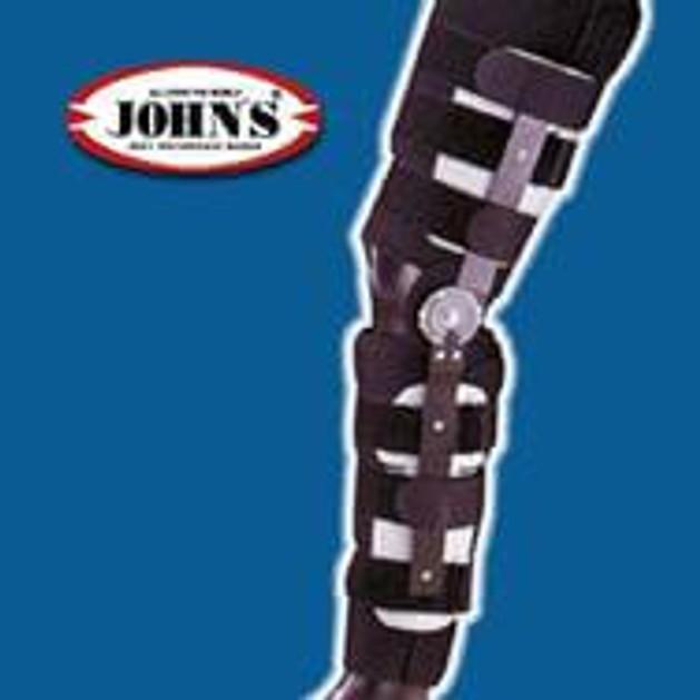 John\'s Κηδεμόνας Μηροκνημικός Με Πολυκεντρική Ρύθμιση 60 One Size 23901
